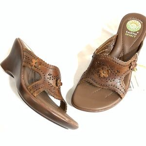 🔥NEW!🔥 Earth Spirit Leather Wedge Sandals